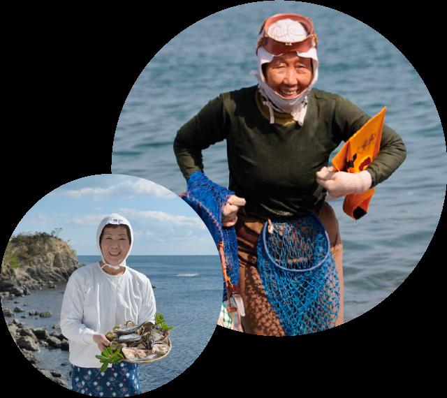 海女について|海女小屋『相差かまど』伊勢志摩・鳥羽の海女小屋体験